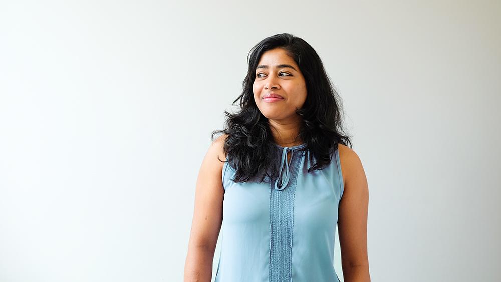 Photo of Sonam Madav, The Works' Sustainability Analyst