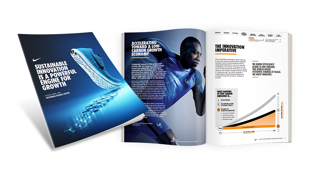 NIKE, Inc. FY14/15 Sustainable Business Report